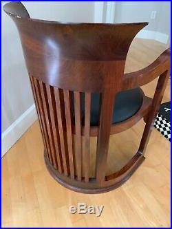 Rosewood Chair Frank Lloyd Wright Style