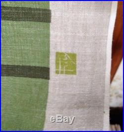 Schumacher Frank Lloyd Wright Fabric Panel Design 103 Hand Printed Taliesin