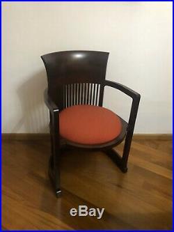 Sedia Chair Barrel Frank Lloyd Wright By Cassina