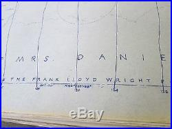 Set House Blueprint Frank Lloyd Wright Foundation Taliesin Associated Architects