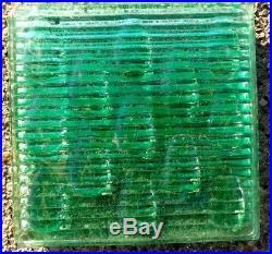 Set Of 14 Glass Prism Tiles Frank Lloyd Wright Flw Transom Window