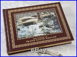 THE VISION OF FRANK LLOYD WRIGHT Easton Press - OVER SIZED BOOK