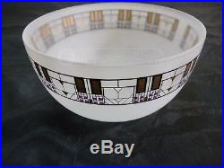 TREE OF LIFE Frosted Bowl FRANK LLOYD WRIGHT'S EGIZIA Clean