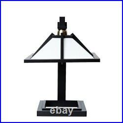 Taliesin 1 Floor Light Desk Lamp Designed by Frank Lloyd Wright Black H/41
