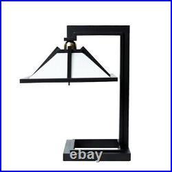Taliesin 1 Table Light Desk Lamp Designed by Frank Lloyd Wright Black H/41