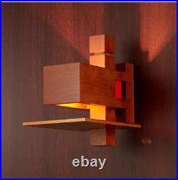 Taliesin 2 Wall Sconce Lamp Frank Lloyd Wright Brown REPRODUCT 268x170x291mm