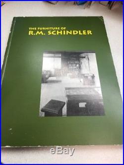 The Furniture of R. M. Schindler BOOK ISBN 0942006305 FRANK LLOYD WRIGHT MODERN