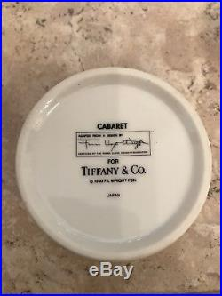 Tiffany & Co. Frank Lloyd Wright Cabaret Trinket Box 1990