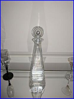 Tiffany & Co. Frank Lloyd Wright Crystal Decanter, Vintage Rare