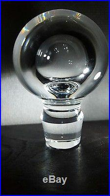 Tiffany & Co. Frank Lloyd Wright Crystal Decanter, Vintage Rare, EXCELLENT