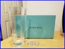 Tiffany & Co Frank Lloyd Wright Vase 9 3/4 tall