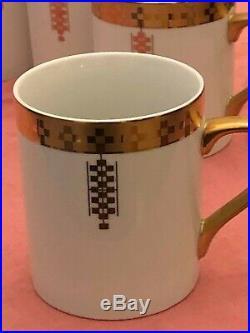 Tiffany & Co. Imperial Design By Frank Lloyd Wright 6 Coffee Cups