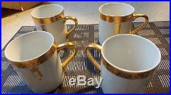 Tiffany & Co. Imperial Design by Frank Lloyd Wright, 4 Coffee Cups