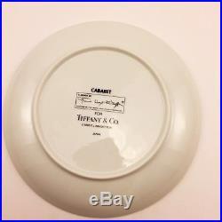 Tiffany Frank Lloyd Wright Cabaret Salad Plate Rare Porcelain