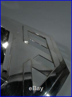 Tiffany Tureens Frank Lloyd Wright Imperial Hotel Tokyo Sterling Silver