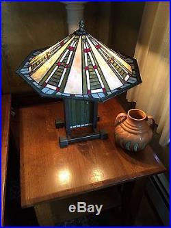 Vintage repro frank lloyd wright dana house prairie lamp frank lloyd wright - Frank lloyd wright ceiling fan ...