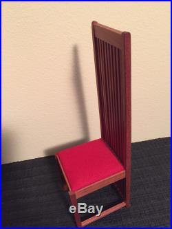 VITRA Miniature Robie House Replica Chair by Frank Lloyd Wright