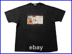 Vintage 80s Frank Lloyd Wright Study Center t-shirt single stitch 1989 XL USA