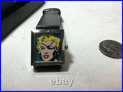 Vintage ANDY WARHOL Marilyn ACME Studio Wrist Watch VERY RARE