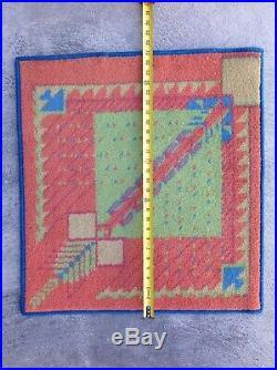 Vintage Art Deco Frank Lloyd Wright Rug Carpet #1