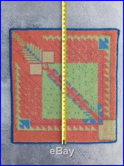 Vintage Art Deco Frank Lloyd Wright Rug Carpet #2