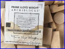 Vintage Frank Lloyd Wright Archiblocks Master Set