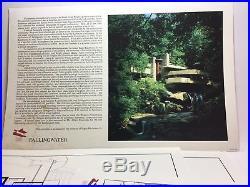 Vintage Frank Lloyd Wright Fallingwater Portfolio Extremely Rare