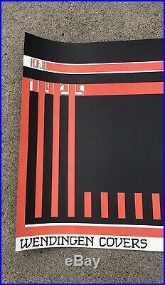Vintage Frank Lloyd Wright Wendingen Covers Galerie Kulik Poster 1986