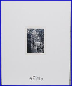 Vintage Photograph Frank Lloyd Wright Falling Water House Exterior Stairway