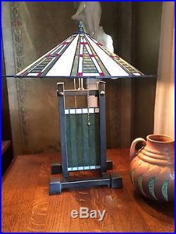 Vintage Repro Frank Lloyd Wright Dana House Prairie Lamp