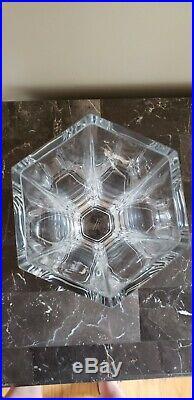 Vintage TIFFANY & Co. Frank Lloyd Wright Foundation 1986 Crystal Vase