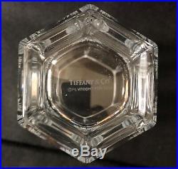 Vintage Tiffany & Co. Frank Lloyd Wright Crystal Vase 1986