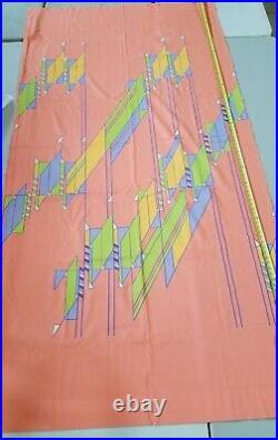 Vintage hotel frank Lloyd wright Biltmore hotel curtain