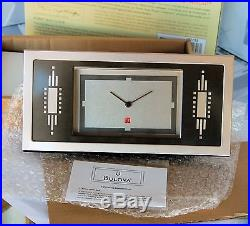 Watch DESIGN by furniture by BULOVA for FRANK LLOYD WRIGHT collection NEW