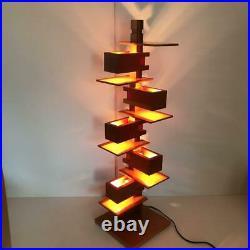 Yamagiwa Frank Lloyd Wright TALIESIN 3 Cherry table lighting 75cm 2013 Used