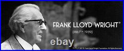 Yamagiwa TALIESIN 3 Walnut 322S7265 Frank Lloyd Wright Table Light reprint
