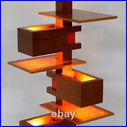 Yamagiwa TALIESIN 4 Cherry 322S7316 Frank Lloyd Wright Table Light reproductio