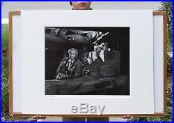 Yousuf Karsh Original 16x20 Silver Gelatin Print, Frank Lloyd Wright, Rare Size